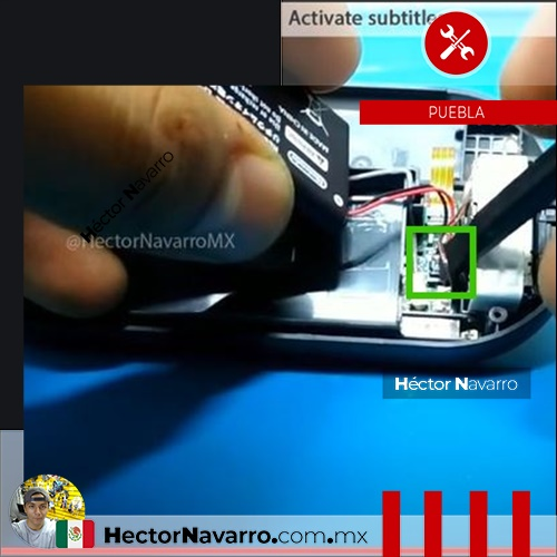 Paso 27 Conecte la bateria