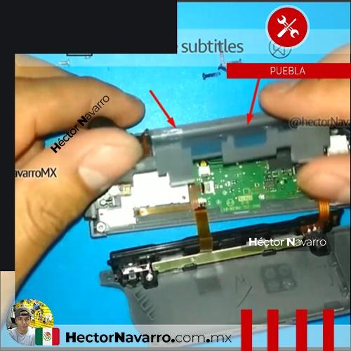Paso 7 Levantar cuidadosamente el middle frame (base de la bateria)